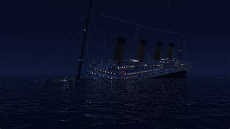 Minecraft Boat Titanic by Sinking Titanic Minecraft Www Pixshark Images