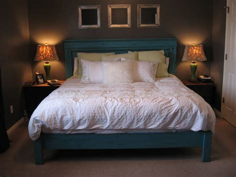 Cing Bed white king size fancy farmhouse bed diy projects
