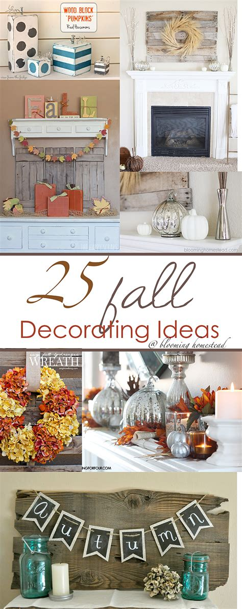 decorations ideas fall decorating ideas blooming homestead
