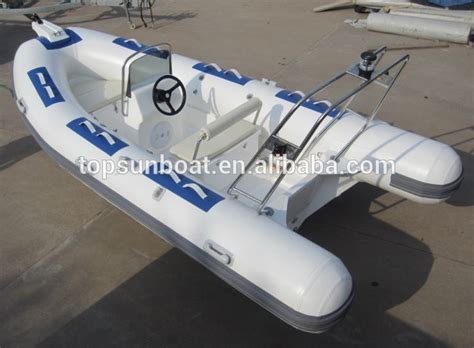 Inflatable Boat Manufacturing Process by High Quality Sail Rib Boat Rigid Inflatable Boat
