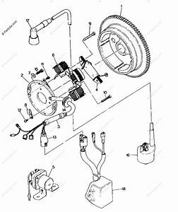 Polaris Atv 1992 Oem Parts Diagram For Magneto Assembly