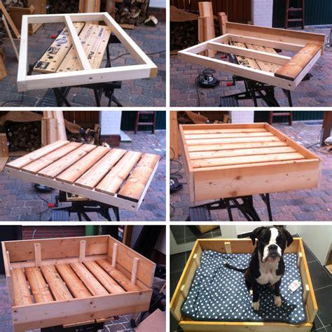 matratze selber machen diy freutag hundebett aus holz selber bauen der