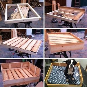 Holz Selber Bauen : diy freutag hundebett aus holz selber bauen der blog ~ Articles-book.com Haus und Dekorationen