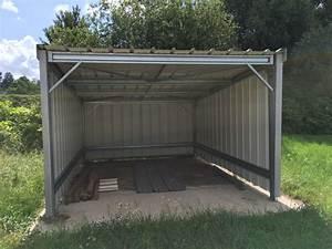 Hangar Metallique En Kit D Occasion : abri en kit galvanis simple monter ~ Nature-et-papiers.com Idées de Décoration