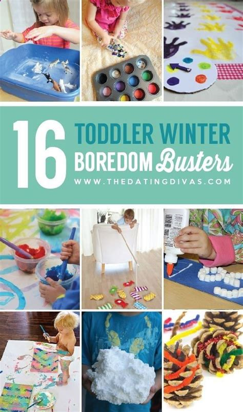 101 Winter Boredom Busters  Activities, Other And Winter