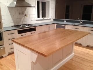 kitchen island with chopping block top solid maple butcher block island top 9428