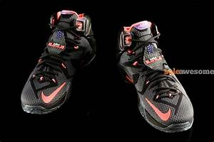 """Preview of Upcoming Nike LeBron 12 """"Instinct"""" (684593-583 ..."""