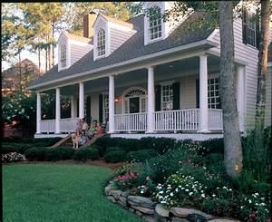 Cape Cod Colonial Farmhouse Southern House Plan 86222
