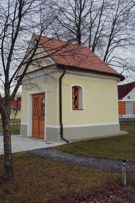 Sanierung Einer Kapelle  Architekturisg  Kunst Und
