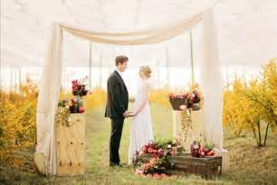 outdoor wedding venues in southern california pomegranate farm wedding inspiration fall wedding ideas