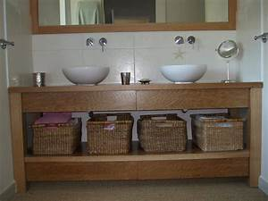 Meuble Plan De Travail : meuble salle de bain plan de travail id es d coration int rieure ~ Teatrodelosmanantiales.com Idées de Décoration