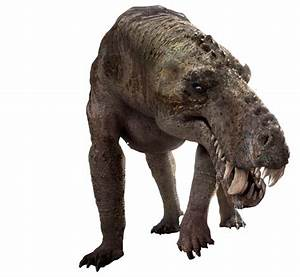 Recreation of Gorgonops, this therapsid lived 250 million ...