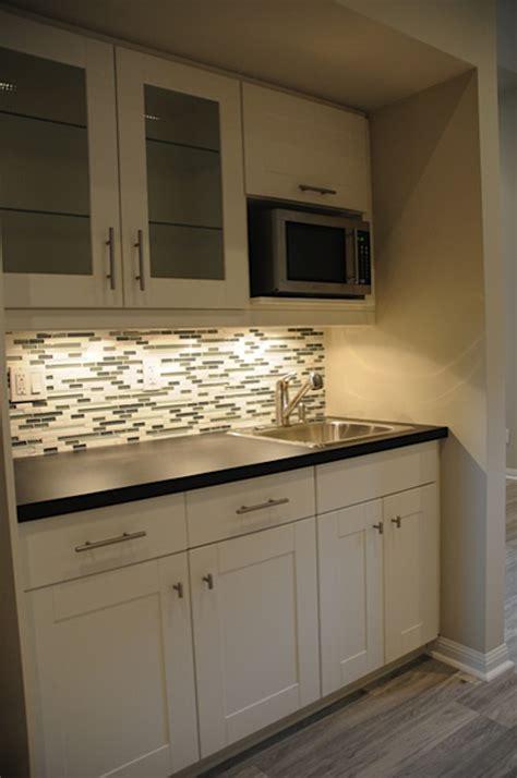 studio type kitchen design basement finishing in brton basement kitchenette and 5914