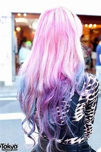 Dip Dye Pink Purple Hair – Tokyo Fashion News
