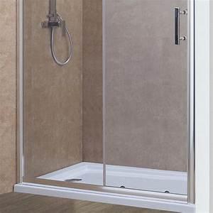 porte de douche coulissante nerina 120 cm 6mm With douche porte coulissante 120
