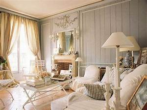 Home decor shabby chic style living room ideas with white ...