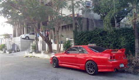 nissan godzilla beautiful red nissan skyline r33 godzilla