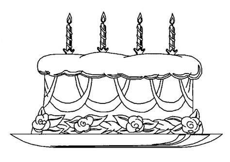 Verjaardagstaart Kleurplaat Printen by Kleuren Nu Verjaardagstaart Met Kaarsen Kleurplaten