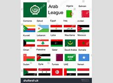 Royaltyfree Arab League Arab member countries… #230575921