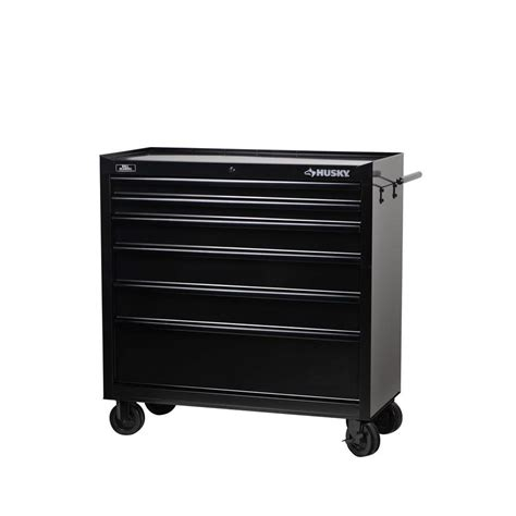 home depot tool cabinet husky 40 in w 6 drawer all tool cabinet black hmt406b