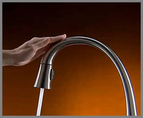 touch sensitive kitchen faucet faucet whereibuyit com
