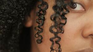 How to define natural curls for kinky curly hair tutorial