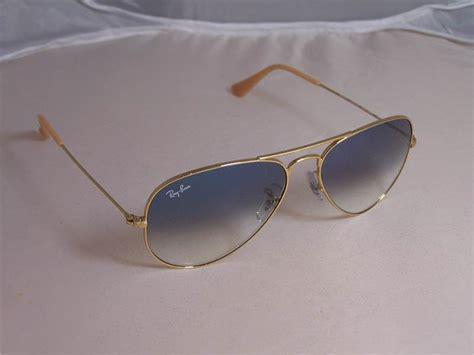 ray ban light blue gradient fashion eye wear sunglasses ray ban aviator style