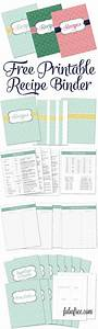 free recipe binder in 3 color options recipe binders With free recipe templates for binders
