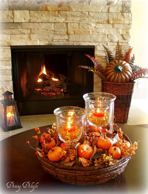 fall dining table decorations dining delight fall coffee table centerpiece