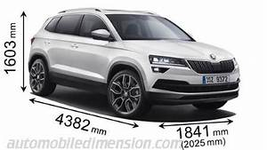 Dimension Volkswagen Up : skoda karoq 2018 dimensions boot space and interior ~ Medecine-chirurgie-esthetiques.com Avis de Voitures