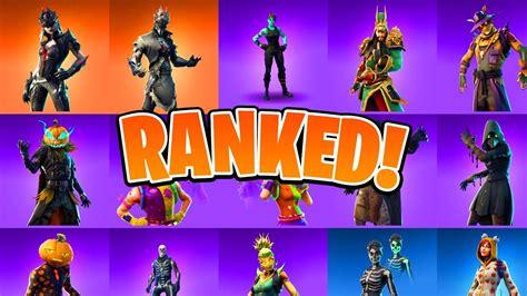 ranking   halloween skins ranking  fortnite