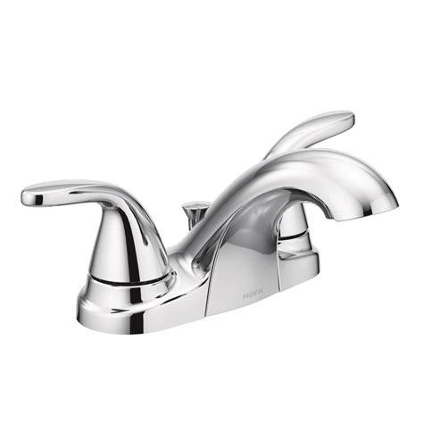 Moen Adler Faucet Aerator by Moen Adler 4 In Centerset 2 Handle Bathroom Faucet In