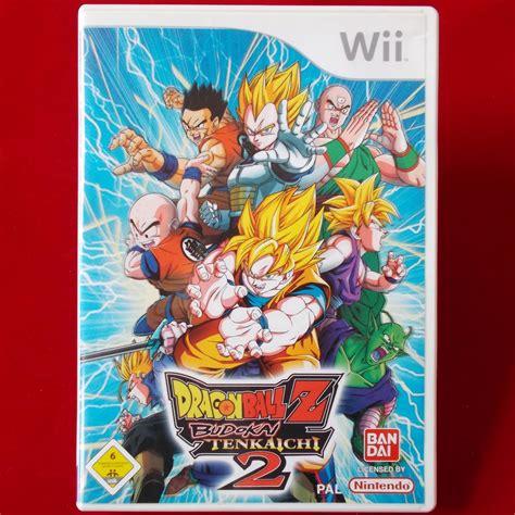 Nintendo Wii Dragon Ball Z Budokai Tenkaichi 2 Wii U Ebay