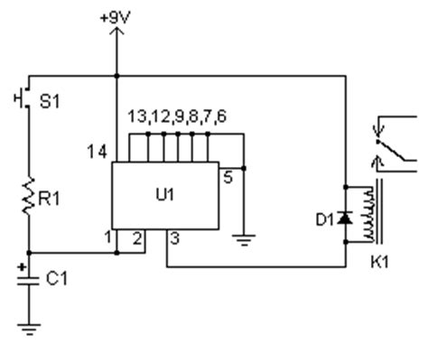 Time Delay Relay Wiring Diagram With Sensor by How To Build Time Delay Relay Ii Circuit Diagram