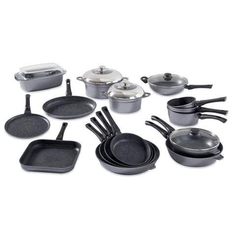 la batterie de cuisine batterie de cuisine complète 16 pièces casseroles mathon