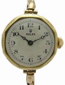 ROLEX DAMENUHR GOLD MIT GOLDBAND IN 9ct POLYGONALES
