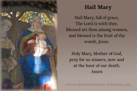 hail mary prayer    meaning  origin