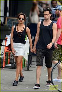 Full Sized Photo of zoe kravitz penn badgley east village ...