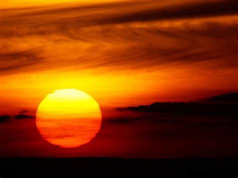 Sunset, Sun, Red Sun, Sunlight, Red, Red Sky, Desert