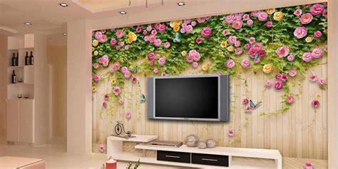 wallpaper dinding rumah  manfaat memasang wallpaper