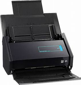fujitsu scansnap ix500 document scanner w nuance power With double sided document scanner