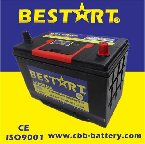 Starting Battery 12v75ah Terminal Types A Car Battery