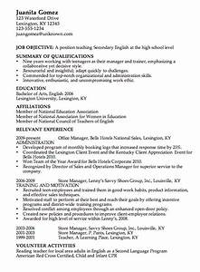 Combination resume example high school english teacher for Sample resume of a teacher in high school
