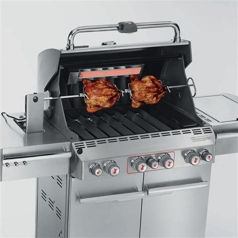 weber summit s 470 stainless gas grill 7270001 aimtofind