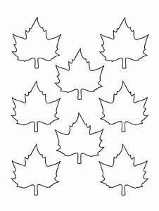 Feuilles D Automne à Imprimer : feuille d 39 erable a imprimer gs coloring pages crafts et diy ~ Nature-et-papiers.com Idées de Décoration