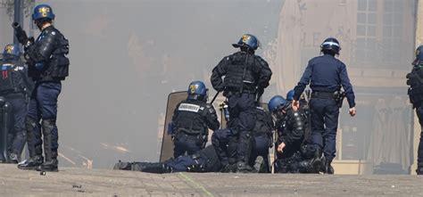 Policier agressé lors de la manif' du 3 mai à Nantes : un lycéen arrêté - RCA