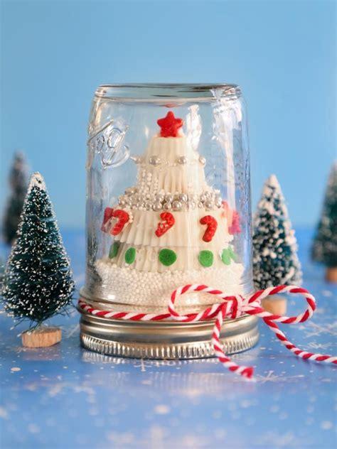 candy christmas tree   snow globe hgtv