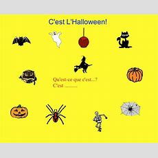 Smartboard L'halloween Vocabulary With Mp3 Sound  French  Halloween Vocabulary, Learning