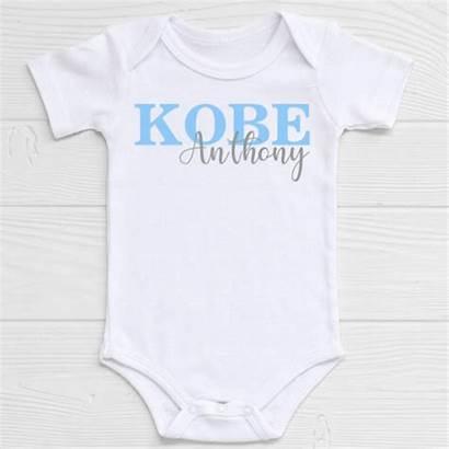 Boy Names Onesie Initials Shirts Clothes Monogram