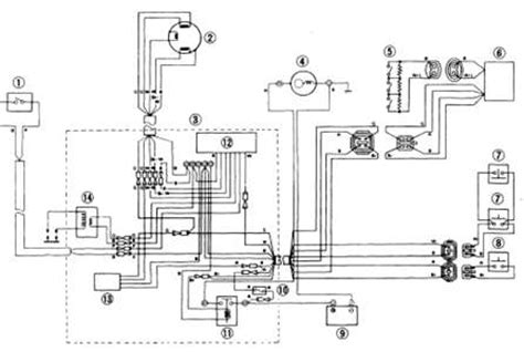 1993 Yamaha Virago 750 Wiring Diagram Schematic by Solved I A 1991 Yamaha Waverunner Iii Wra650p With